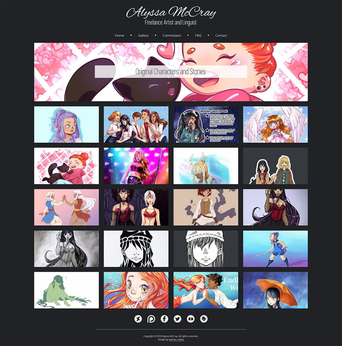 Alyssa Gallery Design