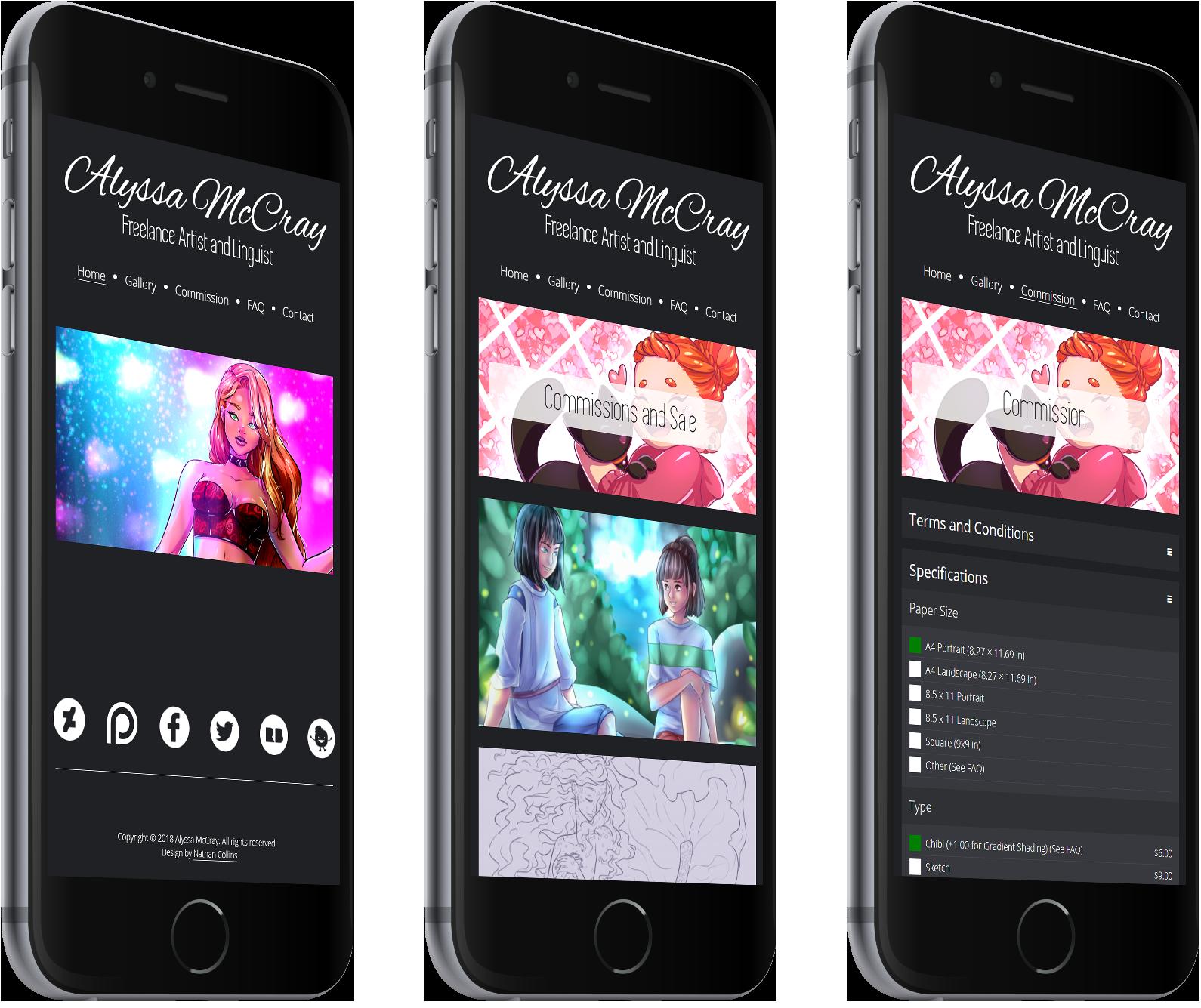 Alyssa Phone Design